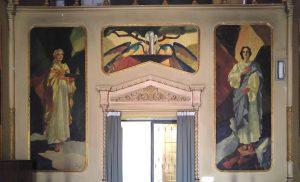 Cappella Palazzo Corso Carpi - Prudenza e Fortezza