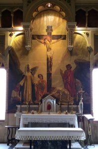 Cappella Palazzo Corso Carpi - Sacrificio della Croce